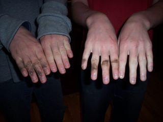Football hands 2