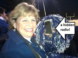 Hidden radio